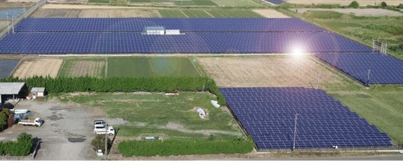 Japan naperőmű