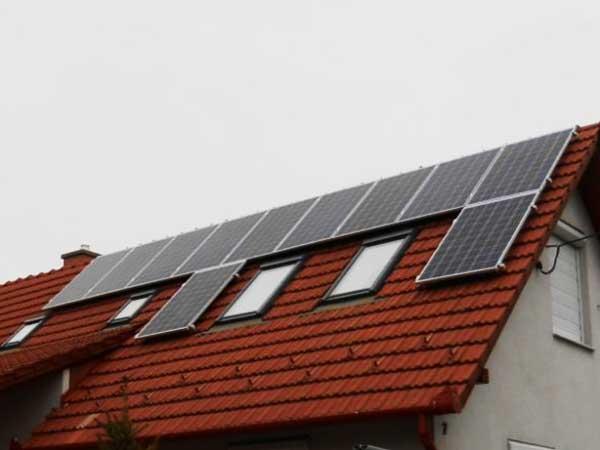 NVSolar napelem rendszer Jászberény