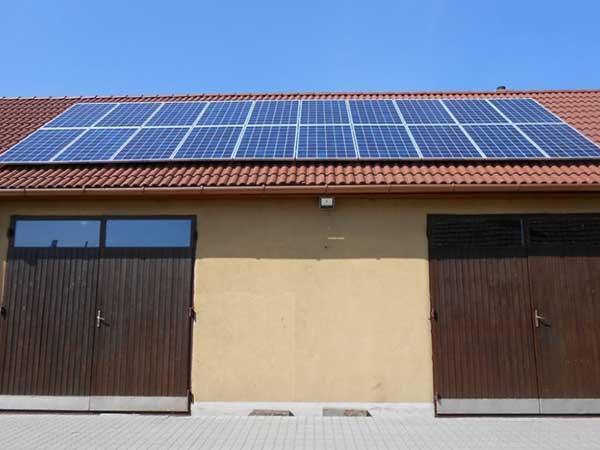 NVSolar napelem, Sajókeresztúr