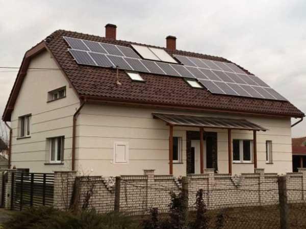 NVSolar napelem rendszer, Kiskőrös
