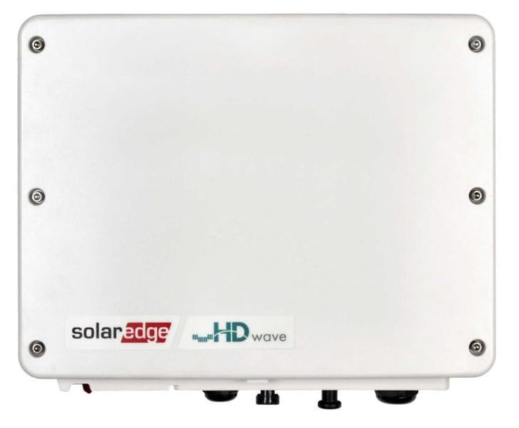 SolarEdge 1 fázisú inverter